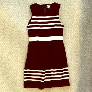 Stripe J. Crew Factory Sundress